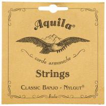 Aquila 5B 5 Str All Nylgut Banjo Set.Med