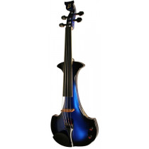 Bridge EV4 Aquila 4 String Violin, Blue