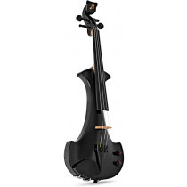 Bridge EV4 B Aquila 4 String Violin, Black
