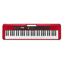 Casio CTS-200 Red Portable Keyboard in Red
