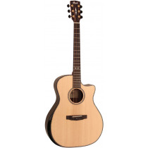 Cort GA-PF-BEVEL-NAT GA PF Guitar, Bevel, Natural