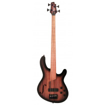 Cort B4FL-MHPZ-OPTA Artisan B4 FL Bass Guitar, Blk