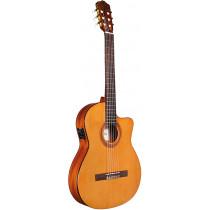 Cordoba C5-CET Electro Thinline Guitar, Cedar