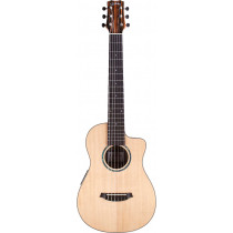 Cordoba Mini II Mini Travel-Size Guitar. Ebony
