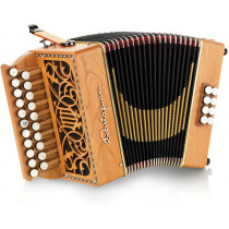 Castagnari Lilly D/G Melodeon, Single Reed