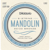 Daddario EJ62 Mandolin Strings Light Set
