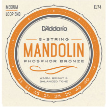Daddario EJ74 Mandolin medium Strings