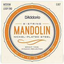 Daddario EJ67 Mandolin Medium Strings set