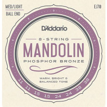 Daddario EJ70 Mandolin Strings, ball