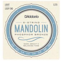 Daddario EJ73 Phosphor Bronze Mandolin Strin