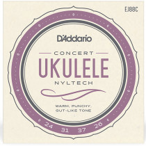Daddario EJ88 Concert Ukulele Strings
