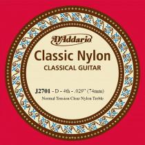 Daddario EJ27 Single D Nylon String