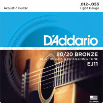 Daddario EJ11 Acoustic Guitar Strings
