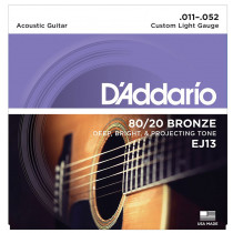Daddario EJ13 Acoustic Guitar Strings