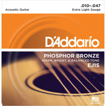 Daddario EJ15 Acoustic Guitar Strings