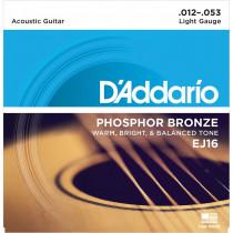 Daddario EJ16 Acoustic Guitar Strings