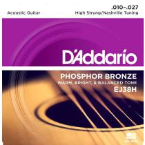 Daddario EJ38H High Strung/Nashville