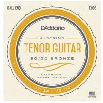 Daddario EJ66 Tenor Guitar Strings. CGDA