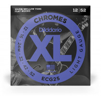 Daddario ECG25 Chromes Guitar Strings. Light