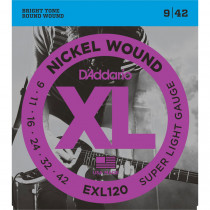 Daddario EXL120 Electric Guitar Strings