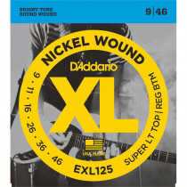 Daddario EXL125 Electric Guitar Strings