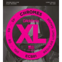 D'Addario ECB81 Chrome Electric Bass Strings