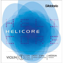 D'Addario Helicore Violin String Set 3/4