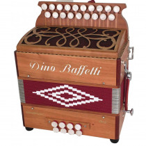 Dino Baffetti Binci II D/G Melodeon, 2 voice