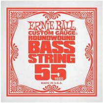 Ernie Ball P01655 Nickel Wound Bass String, 55