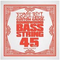 Ernie Ball P01645 Nickel Wound Bass String, 45