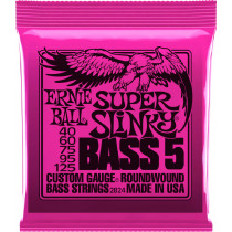 Ernie Ball P02824 Super Slinky 5st Bass Strings