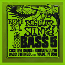 Ernie Ball P02836 Regular Slinky 5st Bass String