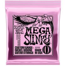 Ernie Ball P02213 Mega Slinky Guitar Strings