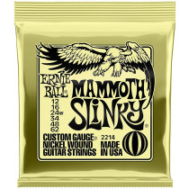 Ernie Ball P02214 Mammoth Slinky Guitar Strings
