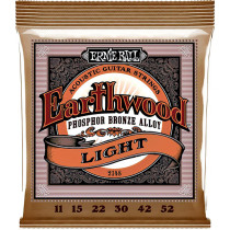 Ernie Ball Earthwood Guitar Strings Bronze, Light