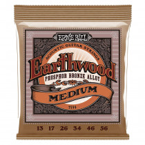 Ernie Ball Earthwood Guitar Strings Bronze, Med/Lig