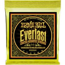 Ernie Ball Everlast 80/20 Guitar Strings, Med Light