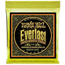 Ernie Ball Everlast 80/20 Guitar Strings, Medium
