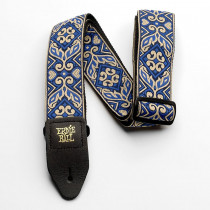 Ernie Ball Classic Jacquard Strap, Tribal Blue