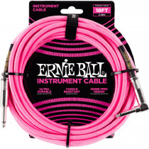 Ernie Ball P06083 18ft Braided Inst Cable. N/P