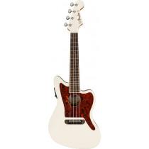 Fender Fullerton Jazzmaster Uke, Olympic White