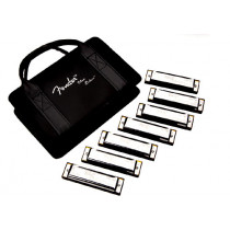 Fender Blues Deluxe Harmonica Set