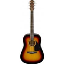 Fender CD-60 V3 Dreadnought Acoustic, SB