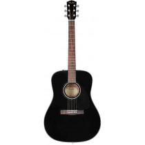 Fender CD-60 V3 Dreadnought Acoustic, Blk