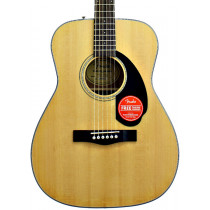 Fender CC-60S Concert Acoustic Guitar, Nat