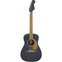 Fender Malibu Player Acoustic Guitar, Midnight Stain