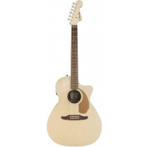 Fender Newporter Player Acoustic Guitar, Champagne