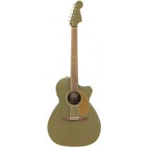 Fender Newporter Electro Acoustic, Olive Satin