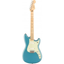 Fender Duo Sonic Electric Guitar, Tidepool