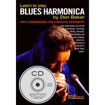 The Blues Harmonica Book&cd Pk